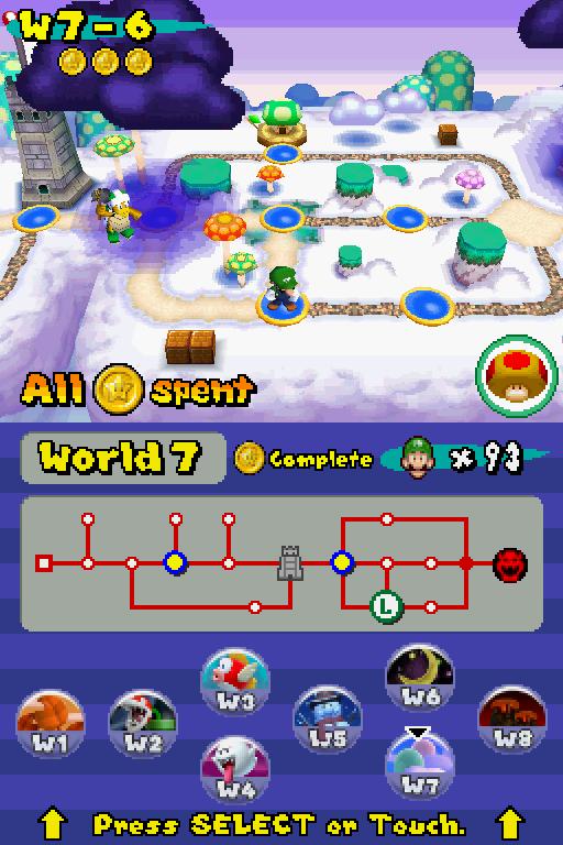 Newer Super Mario Bros Ds Super Mario Boards
