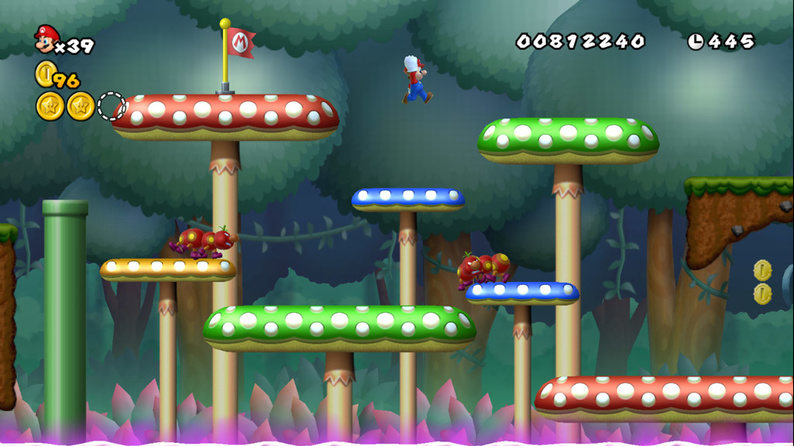 Specials - Newer Super Mario Bros  Wii